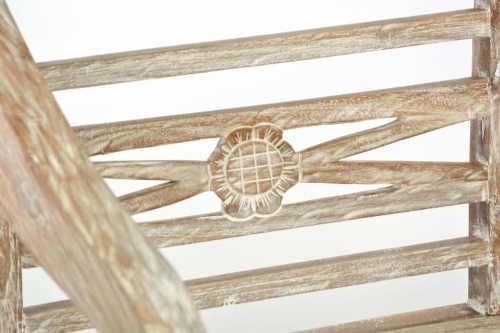 Dřevěná zahradní lavička do vesnických zahrad