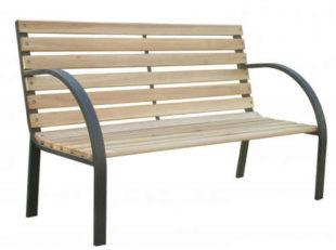 Jednoduchá lavička na zahradu terasu či balkon
