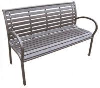 Kovová zahradní lavička Rest