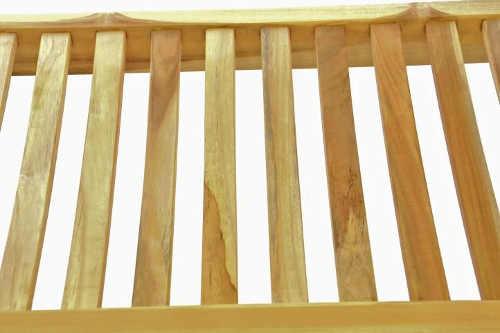 Zahradní lavička z masivního dřeva