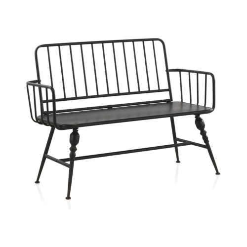 Kovová lavice v originálním designu