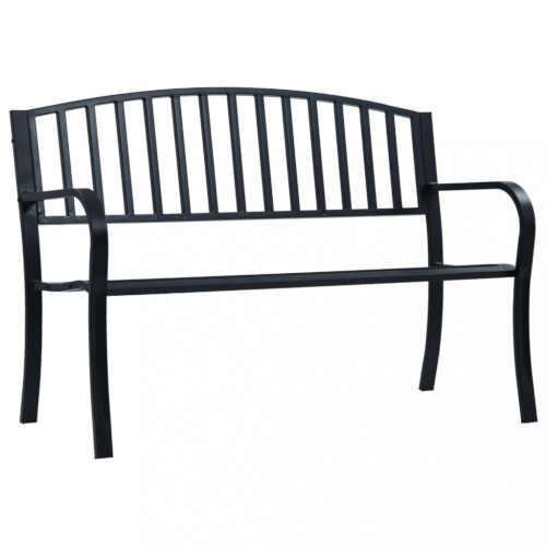 Zahradní kovová lavice v elegantním designu