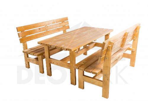 zahradní lavice z kvalitního dřeva