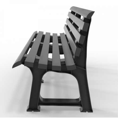 zahradní lavička z plastu