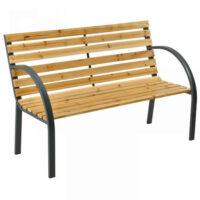 Moderní zahradní lavice pro 2 osoby