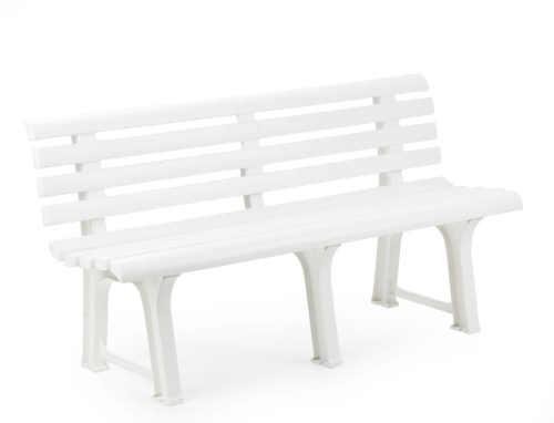 Plastová lavice v klasickém stylu