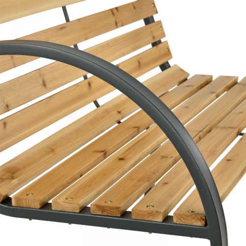 lavička ze dřeva pro 2 osoby