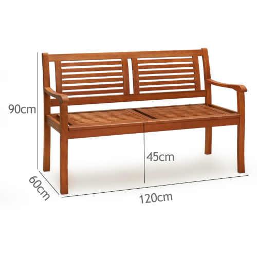 praktická lavička z kvalitního dřeva
