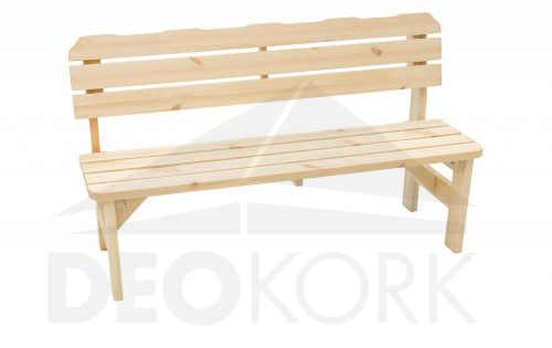 zahradní lavice z borovice